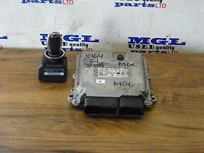 MERCEDES GL X164 350.CDI  ENGINE ECU/IGNITION SET & KEY A6421508900 A1649051500