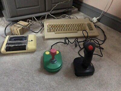 Commodore 64 Computer ( Tested & Working ) - PAL C64 / C64C / Joystick Bundle