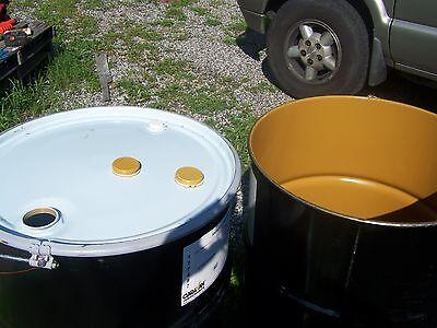 55 Gallon Barrel Drum Barrels Drums Steel Metal Burn Used 55 . READ ALL & CALL .