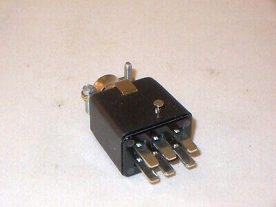 6 Pin Male Plug Connector -- Cinch Jones P306-cct  Beau Molex 38331-5606