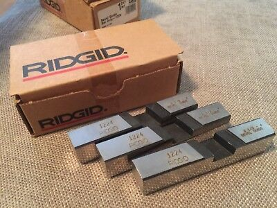 Ridgid 44992 Model 1224 Bevel Guide Set Dies 2-12 - 4 Pipe