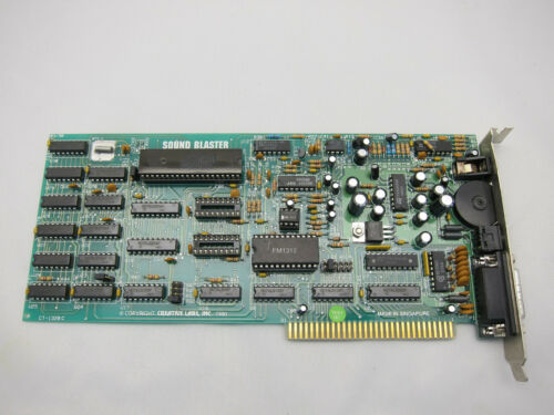 Creative Labs Sound Blaster CT-1320C Version 1.5 CIB IBM PC XT AT Vintage