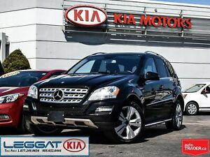 2011 Mercedes Benz M-Class ML 350 BlueTEC | SUNROOF | LEATHER |