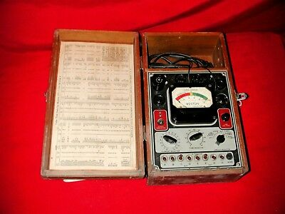 Weston Model 777 2a3 6c4 6l6 6sn7 45 Tube Tester Spare Parts