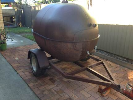Single axle trailer (mounted spit roast/ Smoker) Ferny Hills Brisbane North West Preview