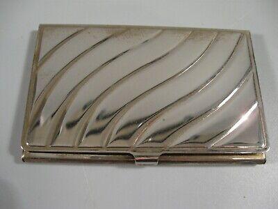 Vintage Silver-plate Business Card Holder