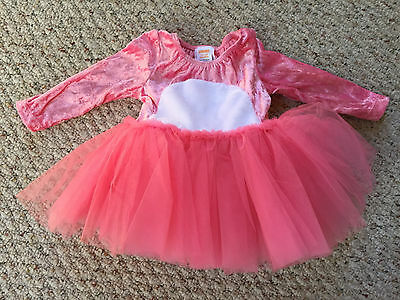 NEW Gymboree baby Easter Pink Bunny Rabbit Halloween Costume Tutu Dress 6-12 mo.](Bunny Rabbit Halloween Costume Baby)