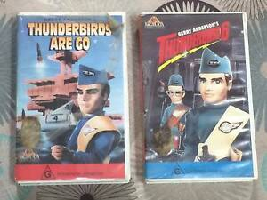 Thunderbirds 1966 VHS movies and episodes Concord West Canada Bay Area Preview