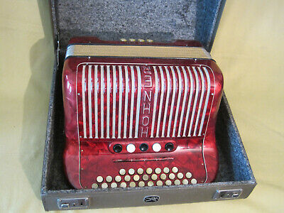Hohner Club IIIM with case and straps