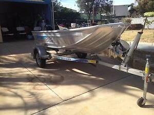3.4 Alloy  Blueline  boat Kalbarri Northampton Area Preview