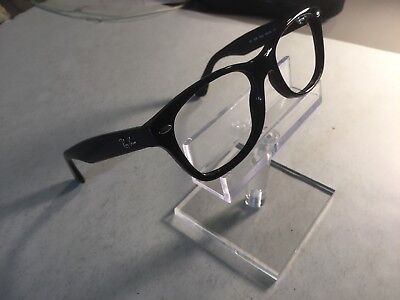 Ray Ban Black Eyeglasses RB1528 3542 48-16-130 YOUTH FIT New Wayfarer With Case