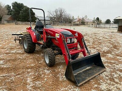 Mahindra 1538l Front End Loader Rear Pto 4x4 3 Point Skidsteer Compatible