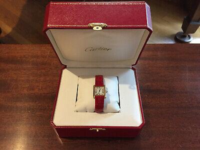 Cartier Watch Ladies Tank Louis Watch Vintage w Box 8650 Retail