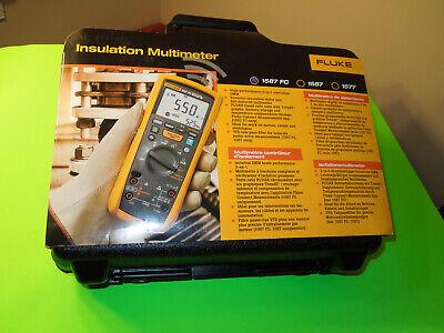 Fluke 1587 Fc Digital Multimeter Brand New
