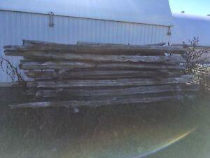 Cedar rails $1.50
