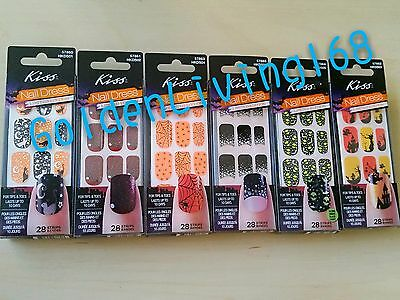 Limited Edition Halloween Kiss Nail Dress Nail Art/Stickers. FAST SHIPPPING