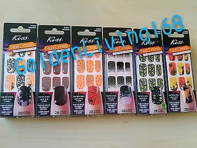 Limited Edition Halloween Kiss Nail Dress Nail Art/Stickers. FAST SHIPPPING](Kiss Halloween Nail Art Stickers)