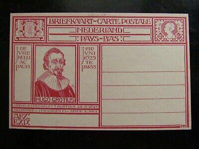 Briefkaart Geuzendam 207 Hugo De Groot Ongebruikt Cataloguswaarde 10.00 - $5.00