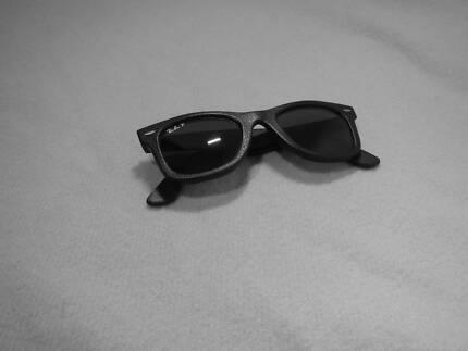 Wayfarer Leather Sunglasses- RB2140QM 1152N5 50-22- P3 Wishart Brisbane South East Preview