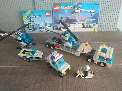 LEGO 6336 6354 Town Police & Pursuit Squad - Complete RARE 1990