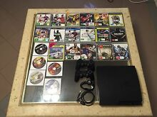 Ps3 slim line with 2 controllers, 22 games Ocean Reef Joondalup Area Preview