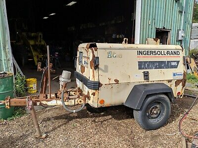 Ingersoll Rand 185 Parts Air Compressor Towable Diesel