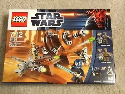 Lego Star Wars 9491 Geonosian Cannon, New Sealed, Excellent Box
