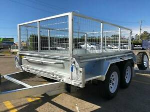 Heavy Duty 10x6 10x5 8x5 Tandem Axle Box Trailers 1990KG ATM Garden Biggera Waters Gold Coast City Preview