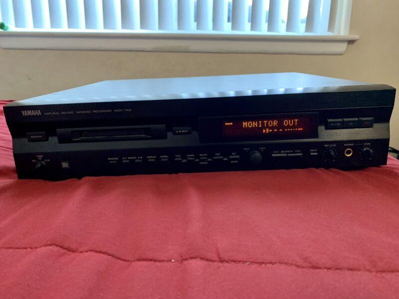 Yamaha Mdx 793 MiniDisc