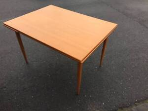 dining table,mid century, extension, vintage WE CAN DELIVER Brunswick Moreland Area Preview