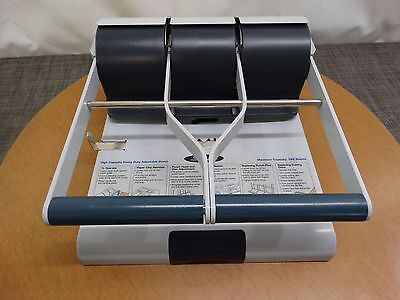 Swingline 74650 Heavy Duty Paper Hole Puncher High Capacity Adjustable Punch