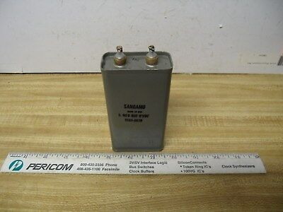 Capacitor Oil Filter .5 Uf To 8 Uf To 3 Kv Ham Radio