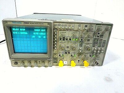 Tektronix 2246a - 4 Channel 100 Mhz Analog Oscilloscope - Free Shipping