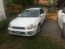 Impreza 2002 gx Hobart CBD Hobart City Preview