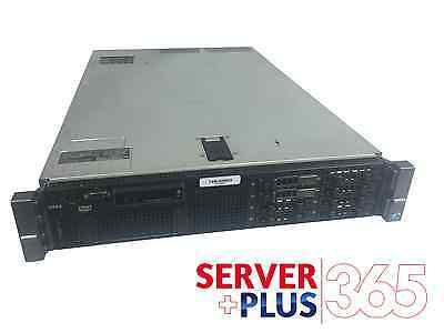 "Dell PowerEdge R710 12-Core 2.5"" Server 128GB RAM PERC6i DVD iDRAC6 & 4 Trays"