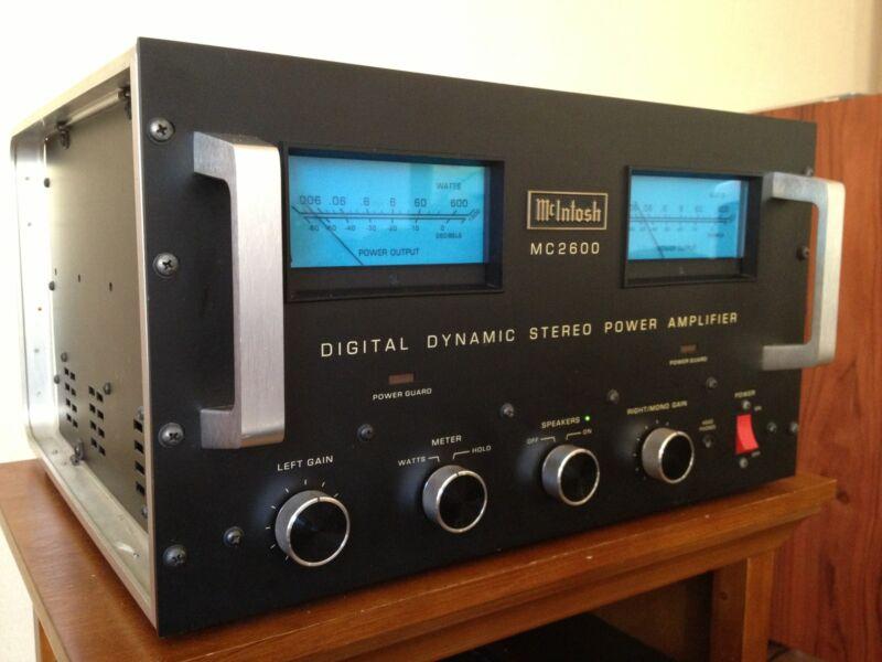 AllegroSound * McIntosh MC-2600 Power Amp *