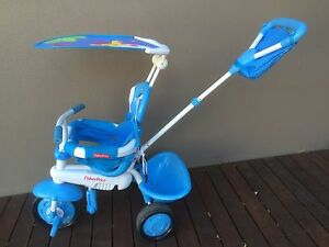 Near New Fisher Price Kids Trike Tricycle With Adult Handle Glenelg East Holdfast Bay Preview