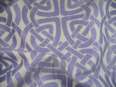Robert Allen Beacon Hill Fabric Pleated Iris Lilac Upholstery Drapery JJ28 Robert Allen Drapery Fabric