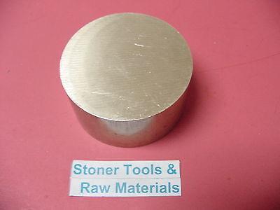 3 C360 Brass Round Rod 1.5 Long Solid 3.00 Od H02 Lathe Bar Stock Half Hard