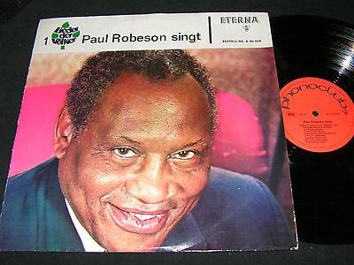 LIEDER DER VÖLKER 1 Paul Robeson singt / DDR PHONOCLUB LP ETERNA 830008