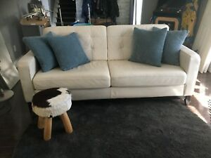 Canadian Made Leather Couch