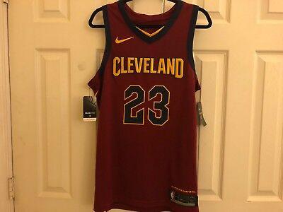 Nwt Authentic Nike Lakers Heat Cavs Lebron James Jersey M 44 Medium  2