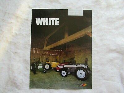 White American Series Tractors Brochure