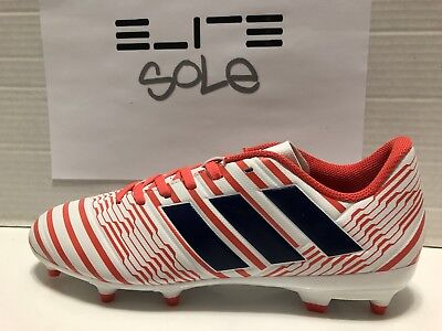 23c90ebed75 Adidas Women s Nemeziz 17.3 FG Soccer Cleats White Coral (BY8886) SZ US  WMNS 8