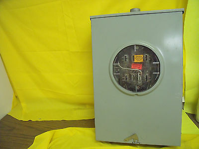1439 Crouse Hinds 200 Amp 600 V Meter Socket Surplus Rh173grf 3r Bypass