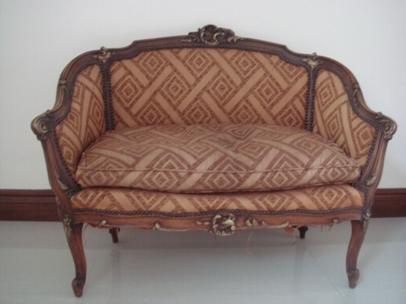 Louis XV Style Settee Early1900