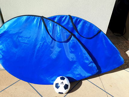 Soccer Nets X 2 And Ball