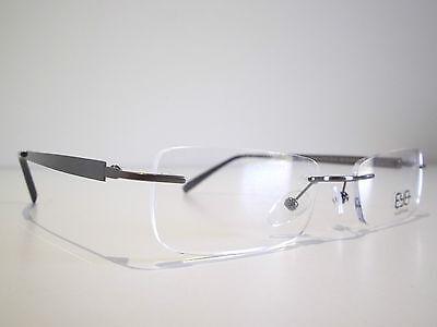 Rimless optical eyeglasses designer spectacles for prescription glasses frames