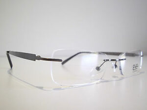 Rimless optical eyeglasses designer spectacles for prescription glasses frames