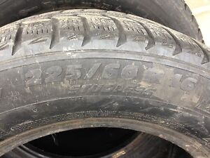 Michelin snow tires- used London Ontario image 2